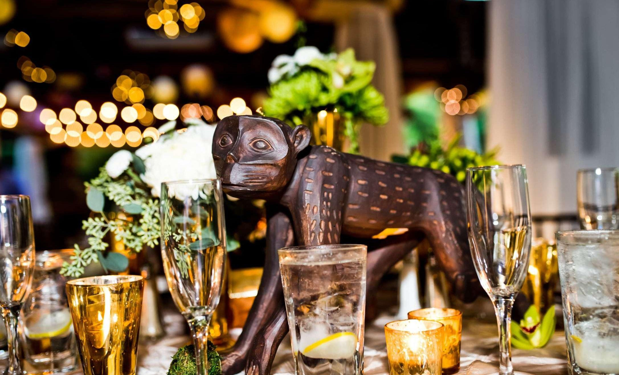 Monkey centerpiece